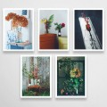 postcards with flowers
