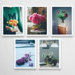 flower postcards - 10 szt. - 1