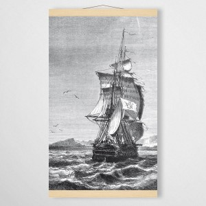 ship - board on canvas